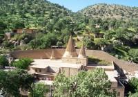 مرقد الشيخ عدي بن مسافر ومزارت أولياء في معبد لالش، دهوك (شمال العراق).  نزار ايزيدي ©