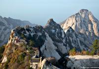 جبل هوا شان، واحدٌ من الجبال الطاويّة الخمسة المقدّسة في الصين. © Éditions Agora - Robert Wallis/Panos