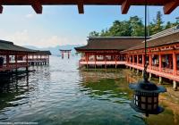 ضريح إيتسوكوشيما في جزيرة مياجيما، مقابل هيروشيما (اليابان). © Éditions Agora - José Fuste Raga/Premiuim